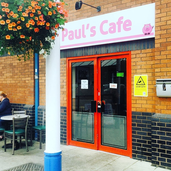 5 STARS AT PAUL'S CAFE